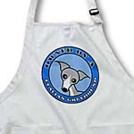 click on Owned By a Italian Greyhound Dog Grey Coat - Blue to enlarge!