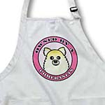 click on Owned By a Pomeranian Dog Tan Cream Coat - Pink to enlarge!