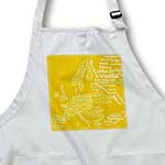 click on Mustard Yellow Typography Food Map of Europe composed of names of world dishes and foods to enlarge!