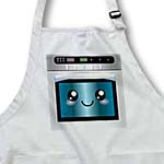 click on Cute kawaii happy smiling oven - for chefs foodies and people who love to cook and bake to enlarge!