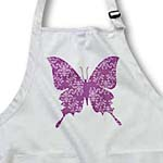 click on Pretty Purple Damask Butterfly to enlarge!