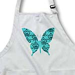 click on Pretty Blue Damask Butterfly to enlarge!