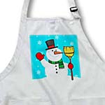 click on Frosty The Snowman With Snowy Background to enlarge!
