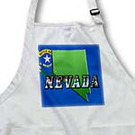 click on State Map of Nevada, Picture Text and Flag in Background to enlarge!
