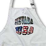 click on State Picture Text of Nevada and USA Flag Text to enlarge!