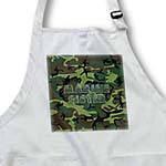 click on Woodland Green Camouflage with Flag Font - Marine Sister to enlarge!