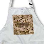 click on Desert Gulf War Camouflage with Flag Font - Marine Sister to enlarge!