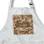 click on Desert Gulf War Camouflage with Flag Font - Marine Husband to enlarge!