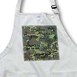 click on Woodland Green Camouflage with Marine Sayings to enlarge!