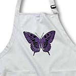 click on Purple Damask Butterfly to enlarge!
