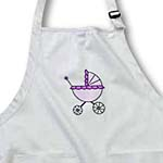 click on Purple Baby Carriage Design to enlarge!