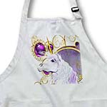 click on If you like Unicorns our beautiful white Unicorn with gem background will brighten your day to enlarge!