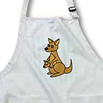 click on Mom and Baby Kangaroo Design to enlarge!
