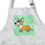 click on Tan Cardigan Corgi with Paw Prints to enlarge!