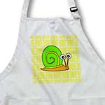 click on Cute Orange, Yellow and Green Snail Design to enlarge!