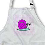 click on Cute Pink and Blue Snail Design to enlarge!