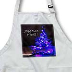 click on Pretty Christmas Tree Joyeux Noel in Royal Blue with White Text to enlarge!