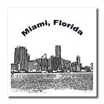 click on Miami Skyline Line Art to enlarge!