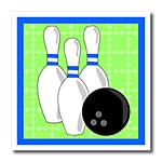 click on Green and Blue - Bowling Pins and Ball to enlarge!