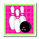 click on Pink and Green- Bowling Pins and Ball to enlarge!