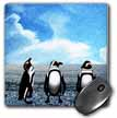 click on Penguins On An Ice Flow Sketch to enlarge!