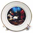 click on Ichabod Crane and Headless Horseman Art Painting 1855 to enlarge!