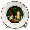 click on Witch Looking in Mirror and Enchanting Clock to enlarge!