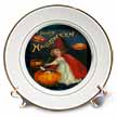 click on Vintage Halloween Girl and Jack o Lantern to enlarge!