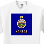 click on State Flag of Kansas (PD-US) to enlarge!
