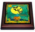 click on Jack o Lantern, Ghost, House, Haunted Trees, Bats and Two Yellow Moons to enlarge!