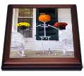 click on Skeleton, Pumpkin and Flower Holding Stand to enlarge!