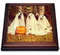 click on Dogs in Ghost Costumes with Jack o Lantern Image, 3drsmm to enlarge!