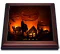 click on Halloween Cat, House and Bat Luminaries to enlarge!