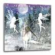 click on Fairies And Unicorn In The Snow to enlarge!