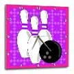 click on Purple and Pink - Bowling Pins and Ball to enlarge!