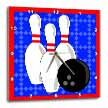 click on Blue and Red - Bowling Pins and Ball to enlarge!